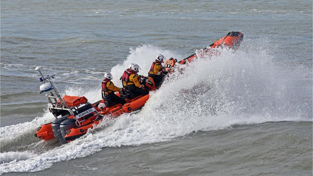 Cardigan's Atlantic 85 Class lifeboat
