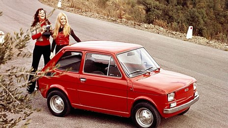 Fiat 126 made in the 1970s