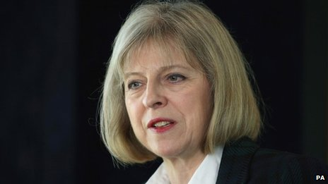 Home Secretary Theresa May