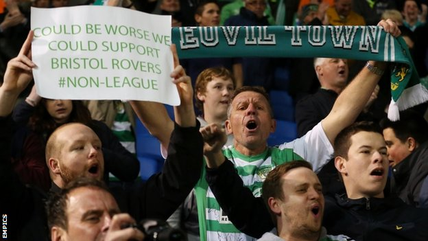 Yeovil Town supporters