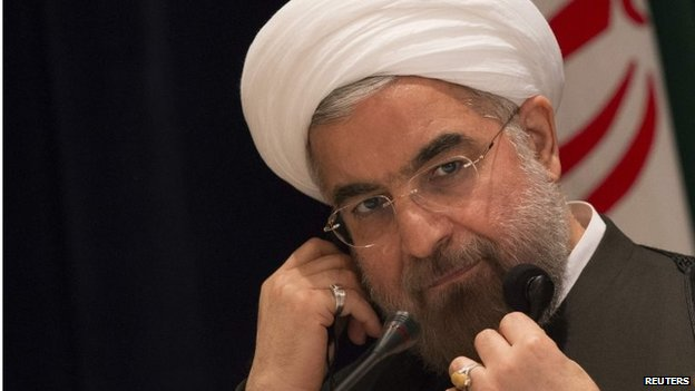 Hassan Rouhani (file photo)