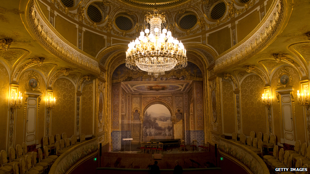 The interior of the Sheikh Khalifa bin Zayed Al Nahyan Theatre