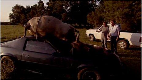 Scene from Top Gear