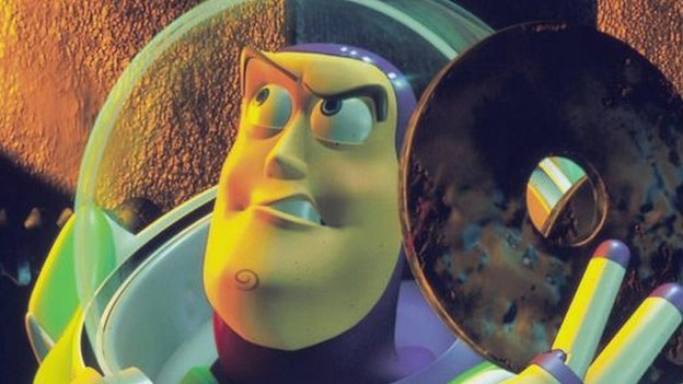 Buzz Light year in Toy Story II