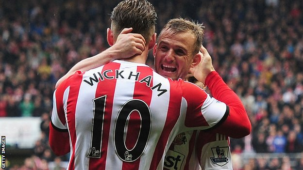 Lee Cattermole and Connor Wickham