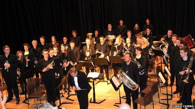 European Youth Brass Band 2014 (copyright BBC Scotland)