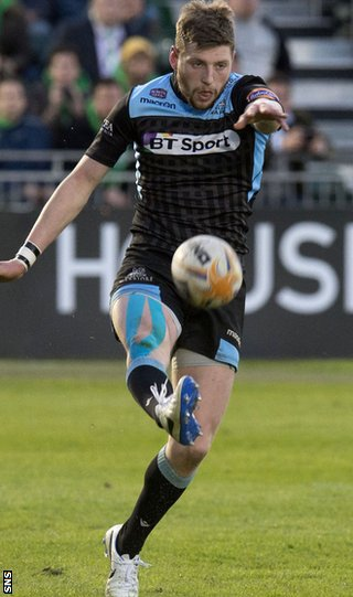 Glasgow Warriors fly-half Finn Russell