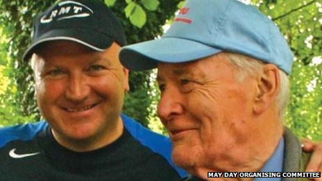 Bob Crow and Tony Benn