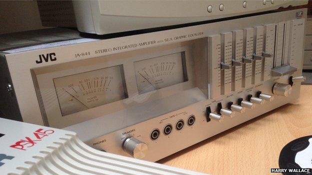 1978 JVC Amplifier