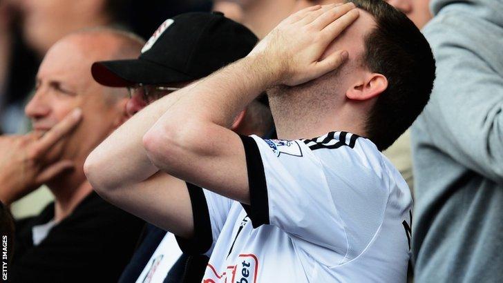A Fulham fan