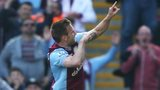 Andreas Weimann celebrates scoring for Aston Villa against Hull City