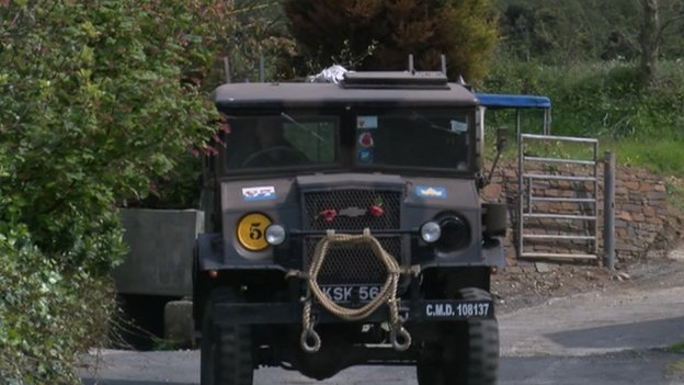 Second World War Vehicles Up For Auction In Cornwall Bbc