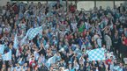 Ballymena United supporters were hoping to see their side win the Irish Cup for the first time in a quarter of a century