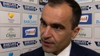 Manager Roberto Martinez is full of praise for Everton's