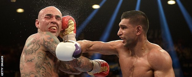 Luis Collazo and Amir Khan