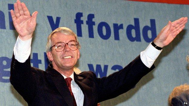 John Major in 1993