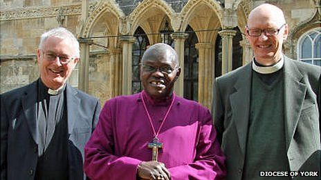 Archbishop of York, John Thomson and Paul Ferguson