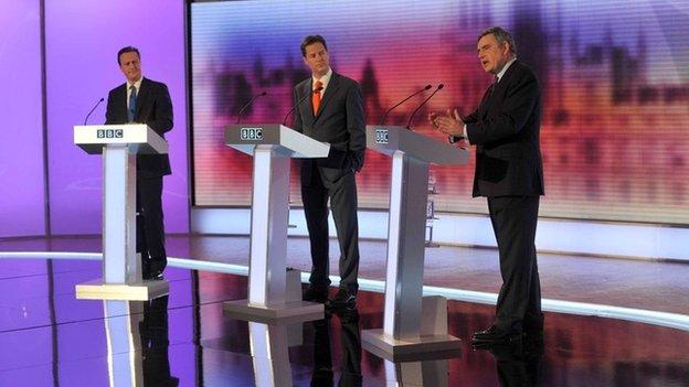 2010 prime ministerial debates