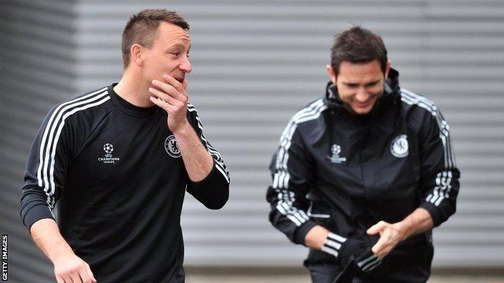 John Terry & Frank Lampard