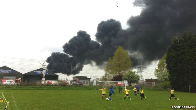 Fire in Hull