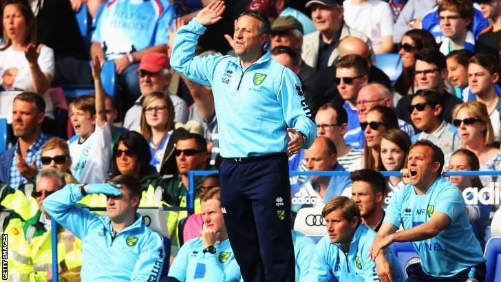 Norwich boss Neil Adams