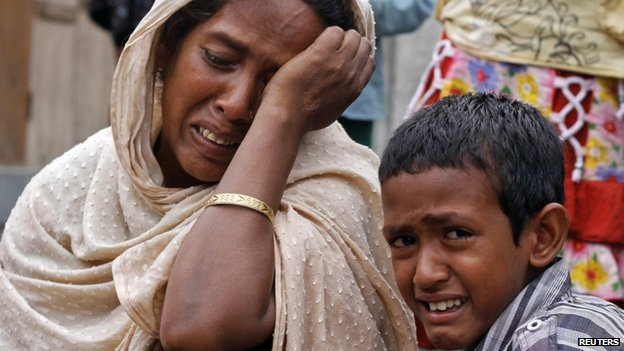 Some members of Assam's Muslim community are living in relief camps after last week's attacks