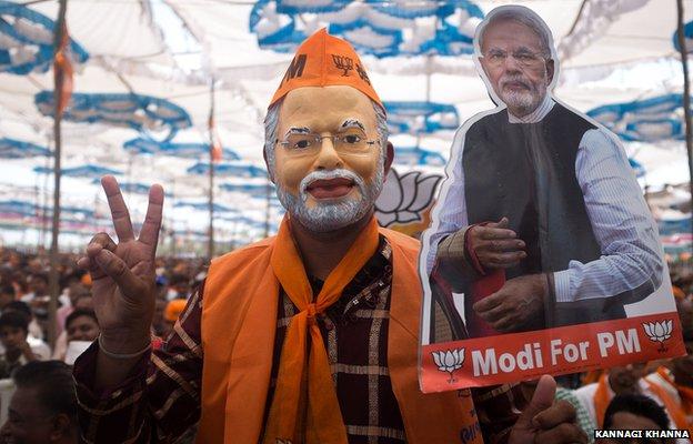 Narendra Modi supporter