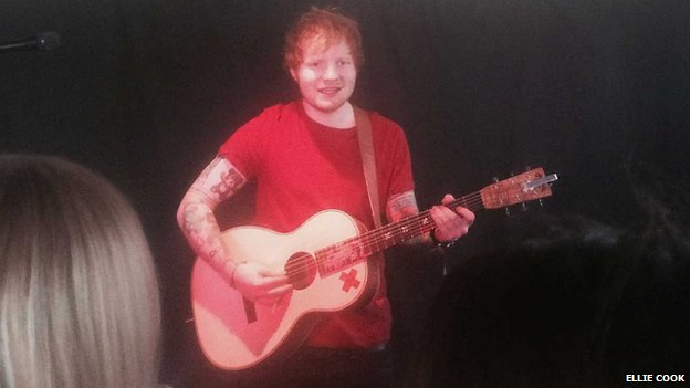 Ed Sheeran, Steamboat Tavern, Ipswich