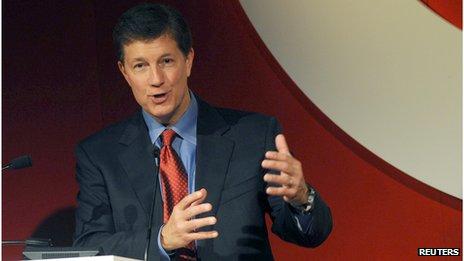 Former Target chief executive Gregg Steinhafel