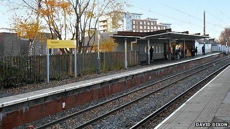 Prestwich Metrolink station