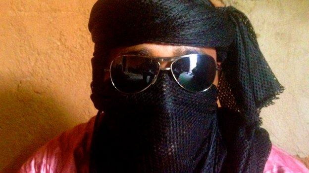 A smuggler in Agadez, Niger (May 2014)