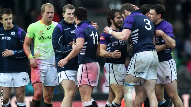 Scotland beat Australia and South Africa at Scotstoun