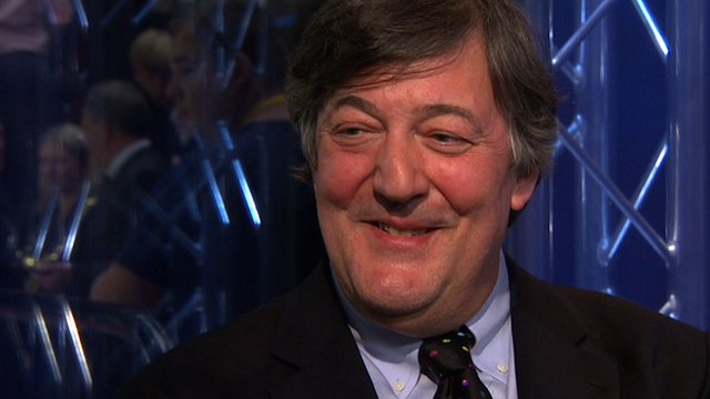Stephen Fry waxes lyrical about Crucible
