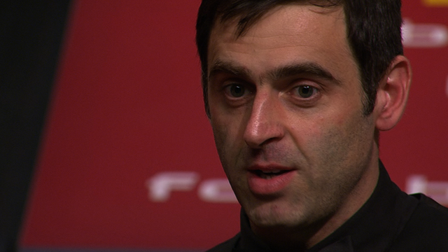 O'Sullivan 'in a good place' despite loss