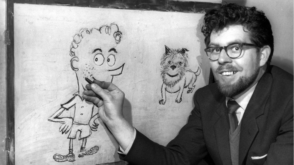 Rolf Harris pictured in 1958