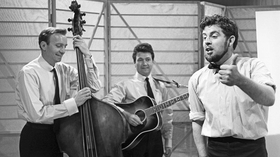 Rolf Harris on A Swingin' Time in 1963