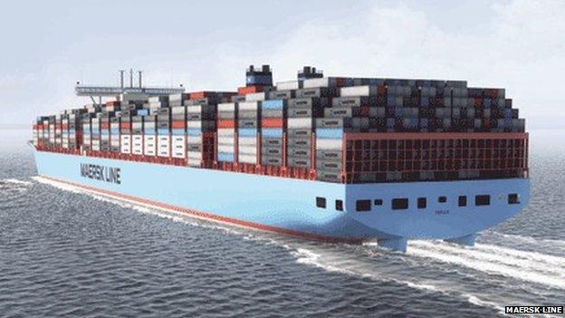 Maersk Line EEE-Class cargo ship