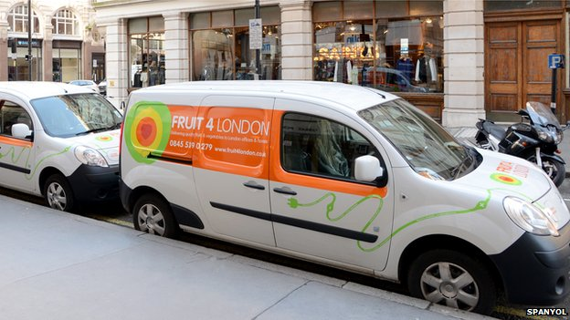 Fruit 4 London electric vans