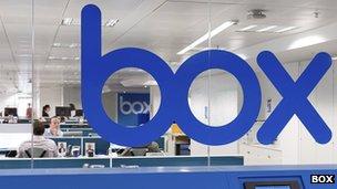 Box headquarters in London