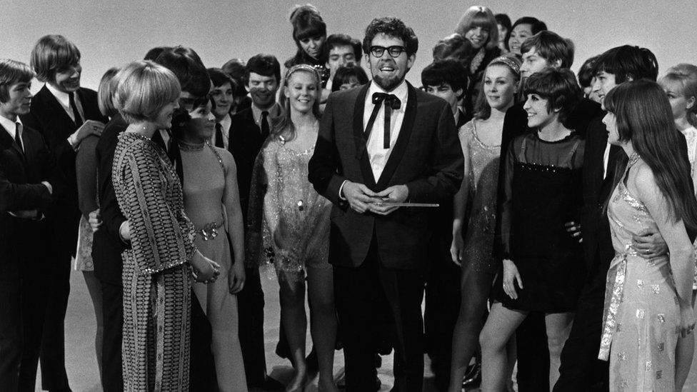 Rolf Harris on The Rolf Harris Show in 1968