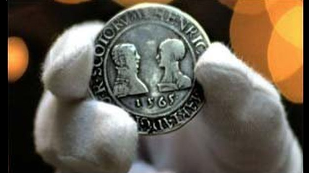 Mary Queen of Scots coin