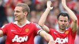 Nemanja Vidic and Ryan Giggs