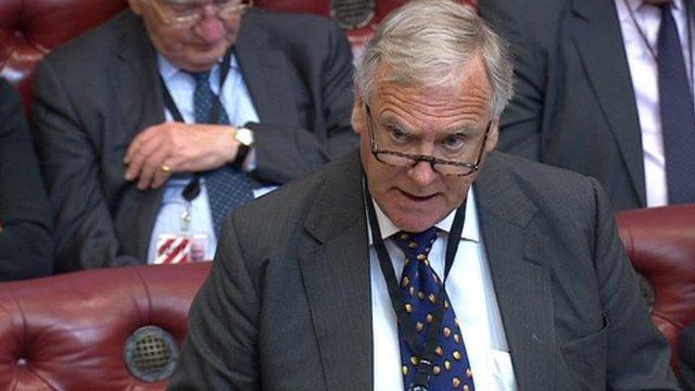 Home Office Spokesman Lord Taylor of Holbeach