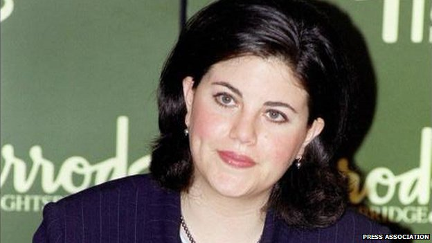 Monica Lewinsky in 1999