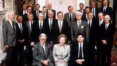 Tory Cabinet in 1989
