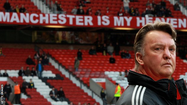 Louis van Gaal, new Manchester United manager