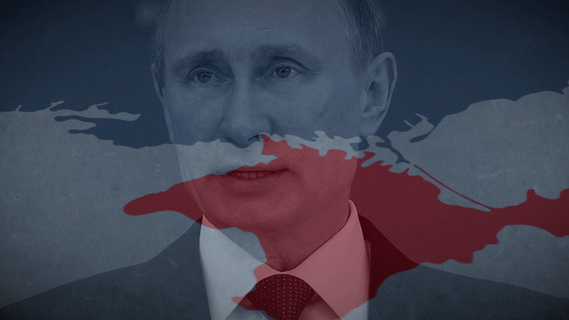 President Putin and Crimea illustration