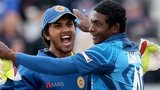 Dinesh Chandimal and Ajantha Mendis