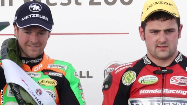 Alastair Seeley and Michael Dunlop