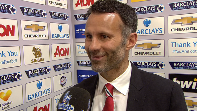 Manchester United interim player-manager Ryan Giggs